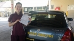 Bree Heritage Park (Logan) passed with Fab Driving School