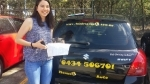 Charmine Logan Central  passed with Fab Driving School