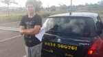 David Chamber Flats (Logan) passed with Fab Driving School