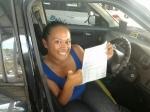 Debbie (Woodridge) passed with Fab Driving School