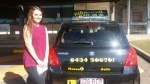 Denise Munruben passed with Fab Driving School