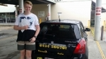 Dylon (Marsden) passed with Fab Driving School