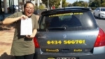 Passed Sharwwod  passed with Fab Driving School