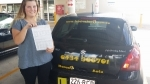 Isabelle (Cresmead) passed with Fab Driving School