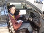 Jake (Marsden) passed with Fab Driving School