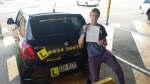 Joel (New Beith) passed with Fab Driving School
