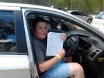 Jordan Boroinia Heights  passed with Fab Driving School