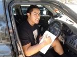 Junior (Slacks Creek) passed with Fab Driving School