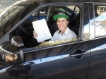 Keegan (Regents Park) passed with Fab Driving School