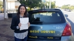 Kwia Taringa CBD passed with Fab Driving School