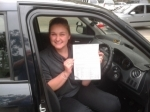 Maddi (Greenbank) passed with Fab Driving School