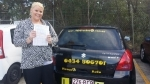 Maggie Greenbank passed with Fab Driving School