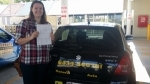 Marcella Marsden passed with Fab Driving School