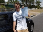 Mathew (Regents Park) passed with Fab Driving School