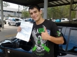 Mathew Boronia Heights  passed with Fab Driving School