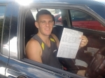 Mathew (Greenbank) passed with Fab Driving School