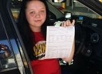 Megan (Beenleigh) passed with Fab Driving School