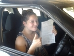Michelle (Boronia Hieghts) passed with Fab Driving School
