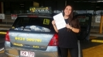 Mikala (Calamvale) passed with Fab Driving School