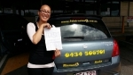 Moana (Boronia Heights) passed with Fab Driving School