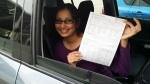 Monita Regents Park (Logan) passed with Fab Driving School