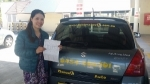 Nhia New beith passed with Fab Driving School