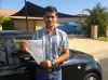 Prashant (Parkinson) passed with Fab Driving School