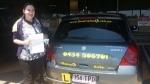 Rebbeca Cornubia passed with Fab Driving School