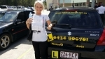 Sarah (Browns Plains) passed with Fab Driving School