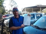 Shane (Rochdale) passed with Fab Driving School