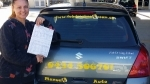 Tracey Browns Plains passed with Fab Driving School