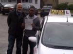 samuel passed with Focus Driving School