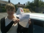Grace15/01/13 passed with Focus Driving School