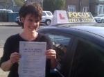 Alexa passed with Focus Driving School