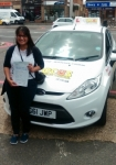 RUBY passed with Focus Driving School