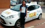 RACHEL passed with Focus Driving School