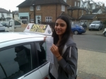 ANILKA PATEL passed with Focus Driving School