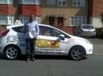 Nasir passed with Focus Driving School