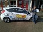 FERNANDA passed with Focus Driving School