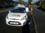 Ansuya passed with Focus Driving School