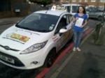 Danielle passed with Focus Driving School