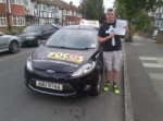 myles passed with Focus Driving School