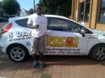 soloman passed with Focus Driving School