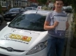 Tom passed with Focus Driving School