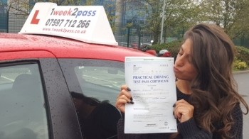 Androulla left a review on Google my Business for our driving school 'The service provided is outstanding. The patience and confidence I was given by my instructor was priceless. Highly recommended. They put you at ease with their in-depth training from your first lesson to your test. Proud to say I have passed and I am delighted'