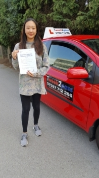 Hannah was the second pupil to pass for instructor Neil on the 31/8/18