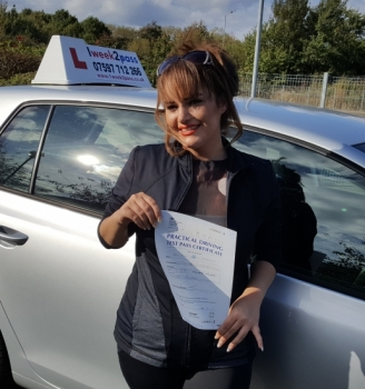 After pPassed Amazing... thats all I can say only a few lessons as I had no time for more Neil ( driving instructor) was absolutely amazing explained everything to me very well. Passed first time and Iamabsolutely over the moon. Thank you so much you are highly recommended assing at her 1st attempt with 1week2pass Zahra commented '