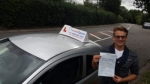 Charlie Briers passed with 1 week 2 pass