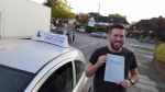 Daniel Abrahams passed with 1 week 2 pass