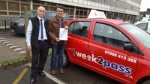 Mosleh Tohidi passed with 1 week 2 pass